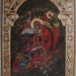 Ikona Bogorodica, Isus i Anđeli